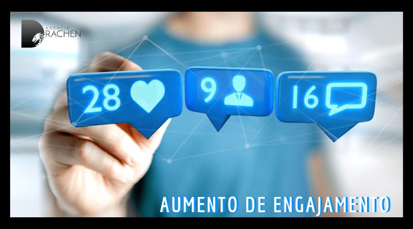 aumento de engajamento no instagram